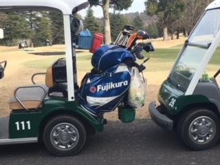 非日常なゴルフ