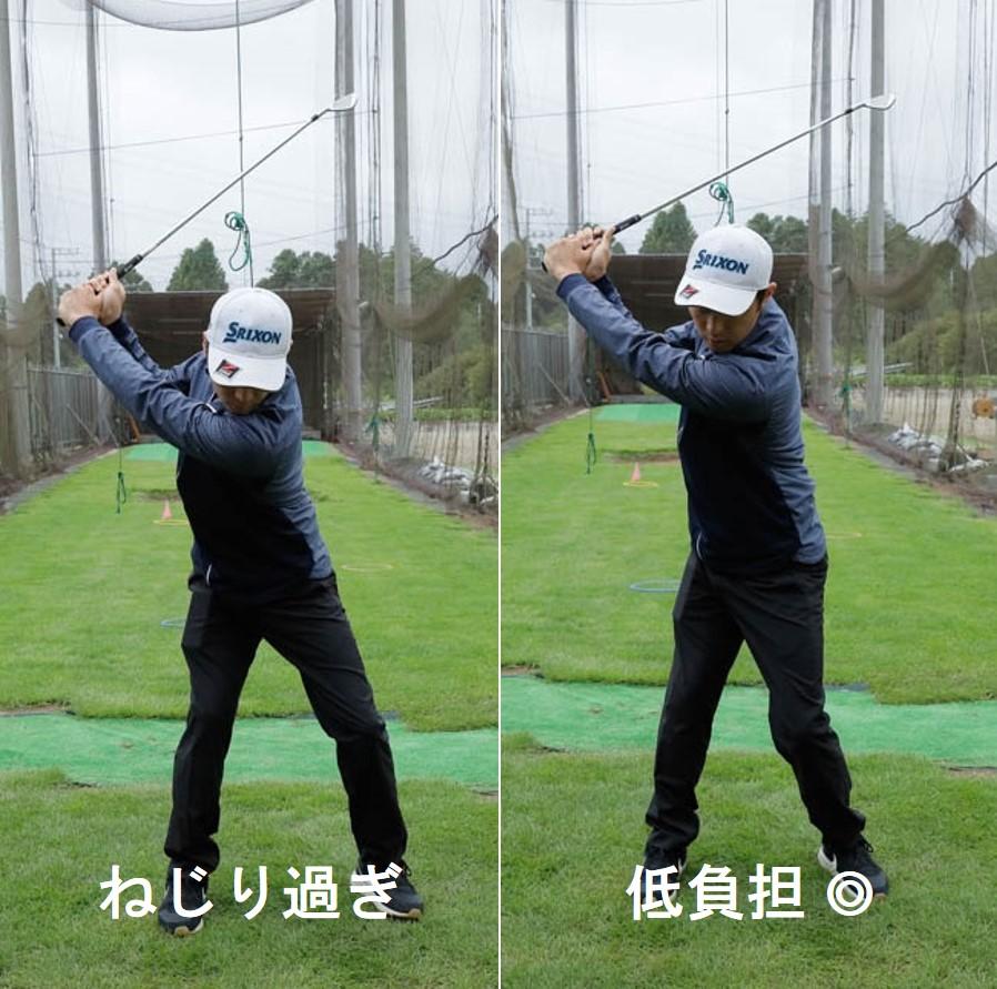 ゴルフ腰痛対策 身体にやさしいゴルフスイング